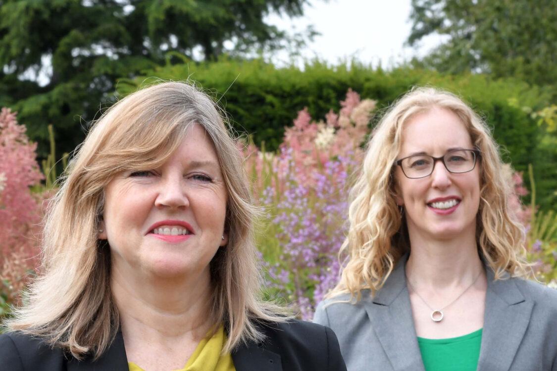 Alison Johnstone and Lorna Slater