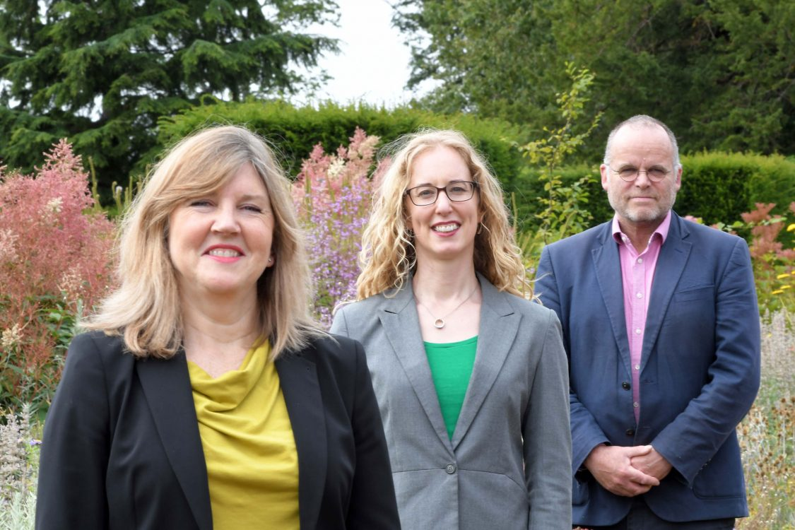 Alison Johnstone, Lorna Slater and Andy Wightman