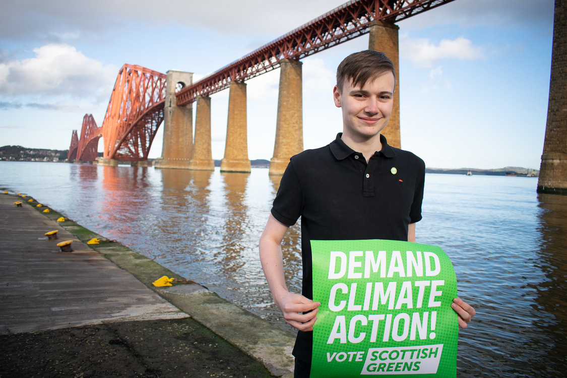 Cameron Glasgow with post 'Demand Climate Action'