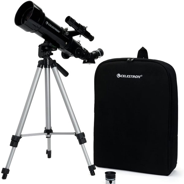 Telescope with tripod and backpack