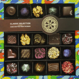 Box of hand crafted chocolates