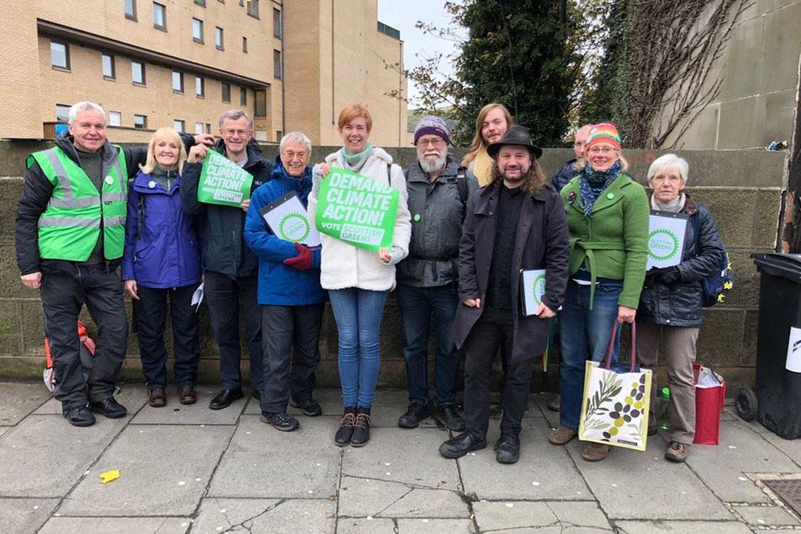 Craigentinny/Duddingston team campaigning