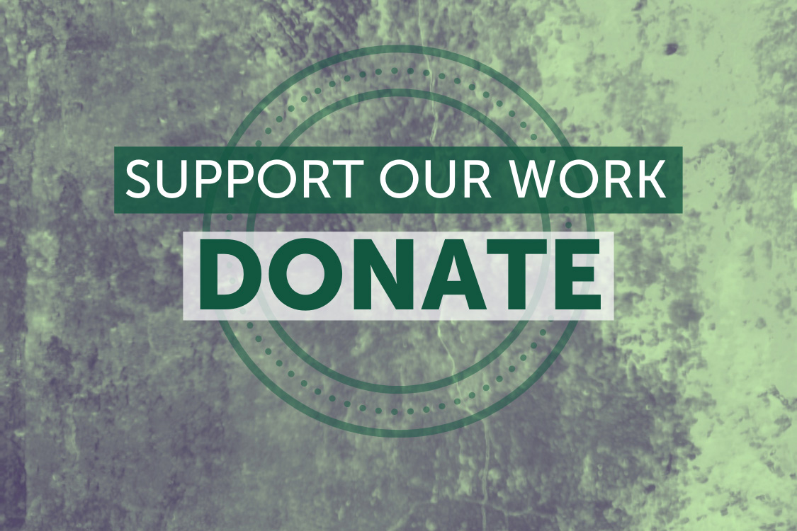 Support our work - Donate