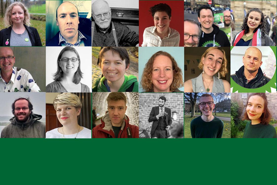 Faces of Edinburgh Branch Committee members