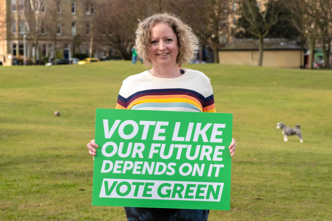 Kate Nevens - vote like our future depends on it: vote Green