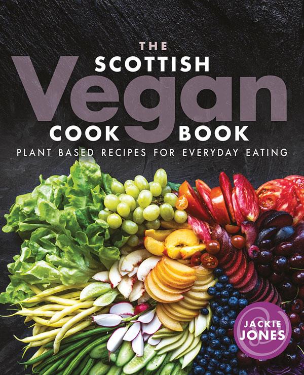 The Scottish Vegan Cookbook cover