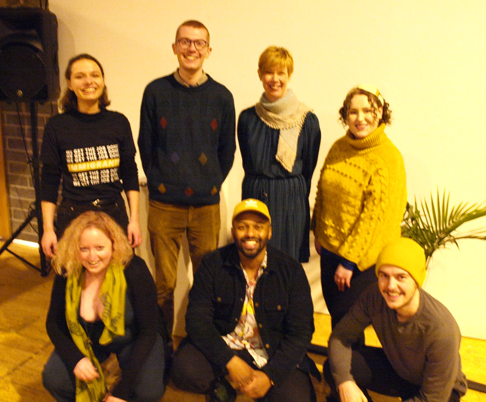 Young Greens with Edinburgh Branch Co-Convenors, Cllr Claire Miller and Magid Magid